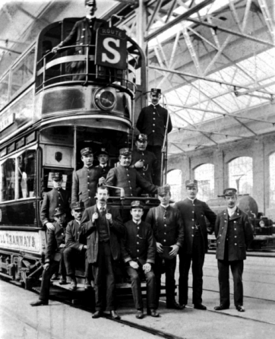 Trams And Waggonettes