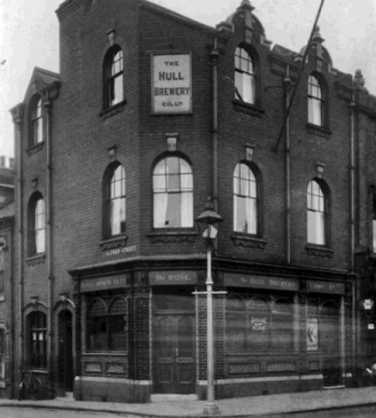 Lost Pubs of Hull — P to R